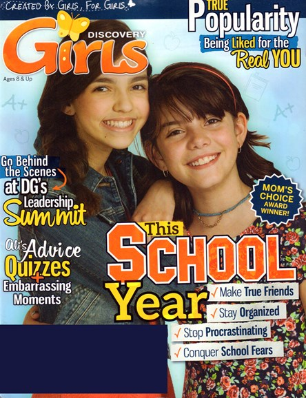 Discovery Girls Cover - 9/1/2016