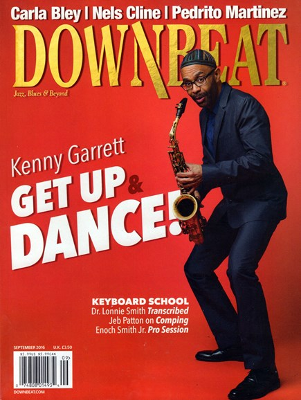 DownBeat Cover - 9/1/2016