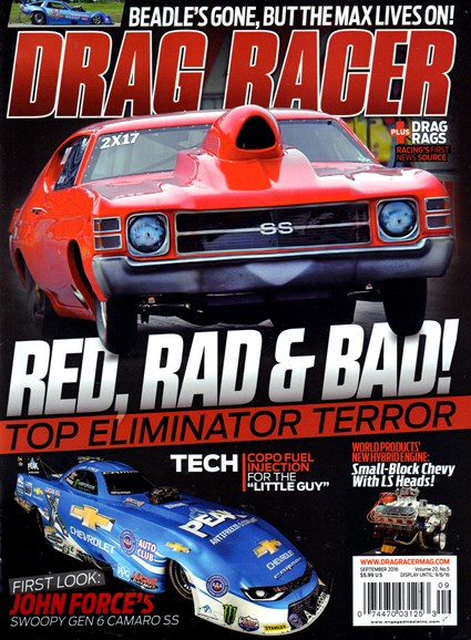 Drag Racer Cover - 9/1/2016