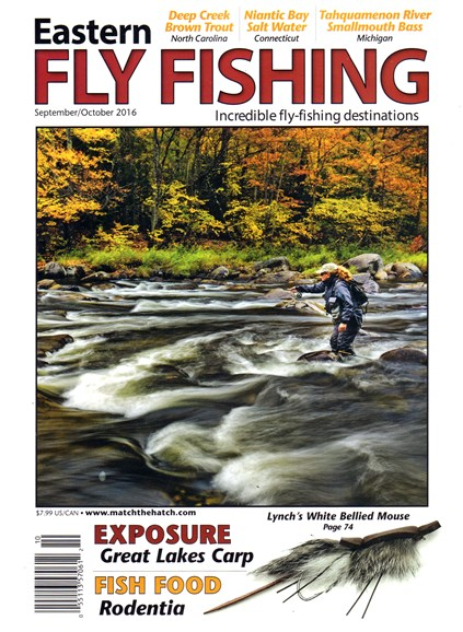 Eastern Fly Fishing Cover - 9/1/2016