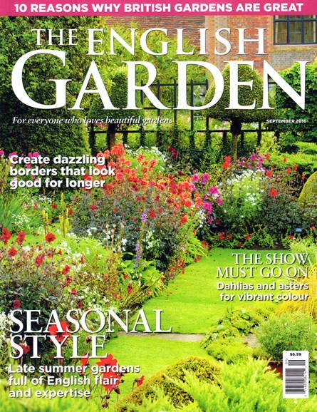 The English Garden Cover - 9/1/2016