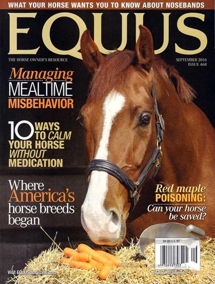 Equus Cover - 9/1/2016