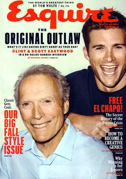 Esquire Cover - 9/1/2016