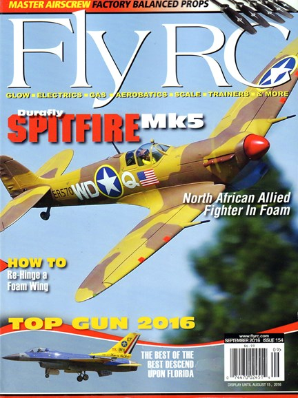 Fly RC Cover - 9/1/2016