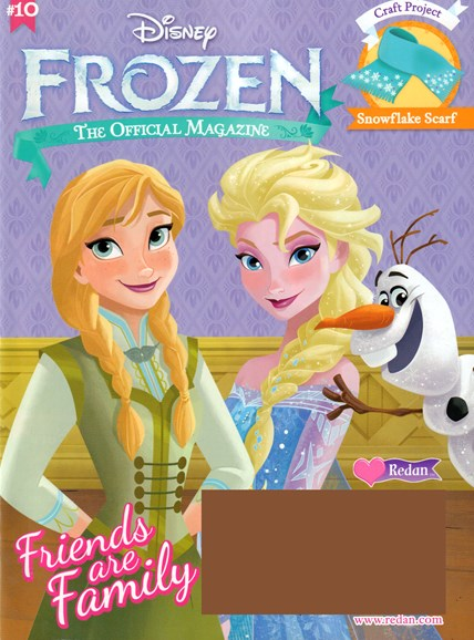 Disney Frozen Cover - 9/1/2016