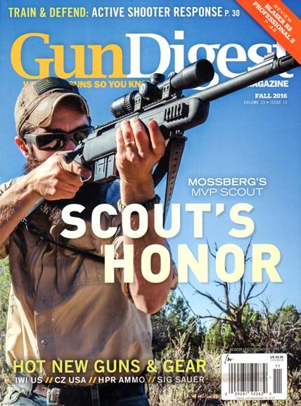 Gun Digest Cover - 9/1/2016