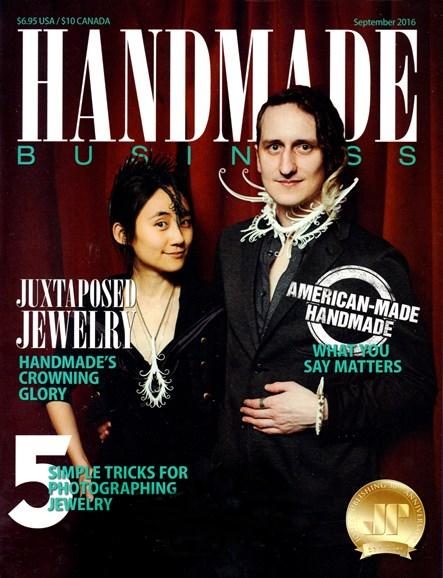 Handmade Business Cover - 9/1/2016
