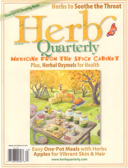 Herb Quarterly Cover - 9/1/2016