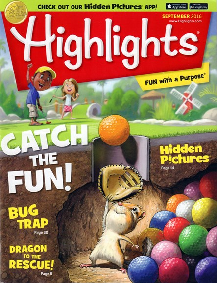 Highlights Cover - 9/1/2016