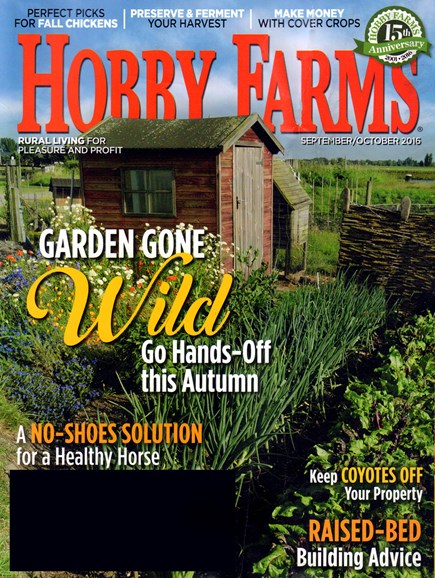Hobby Farms Cover - 9/1/2016