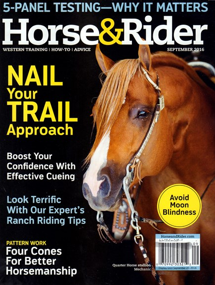 Horse & Rider Cover - 9/1/2016