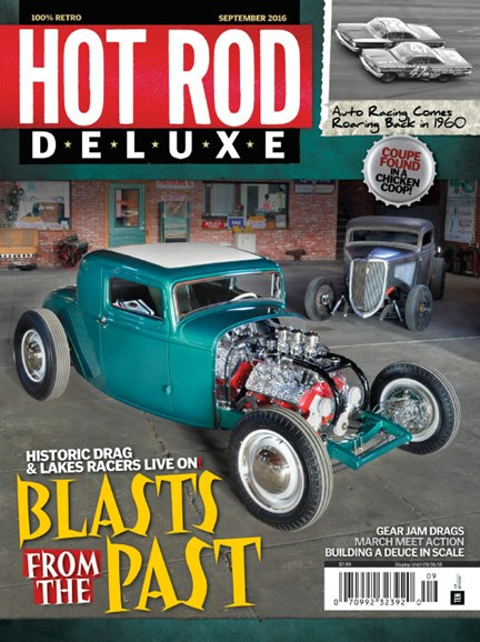 Hot Rod Deluxe Cover - 9/1/2016