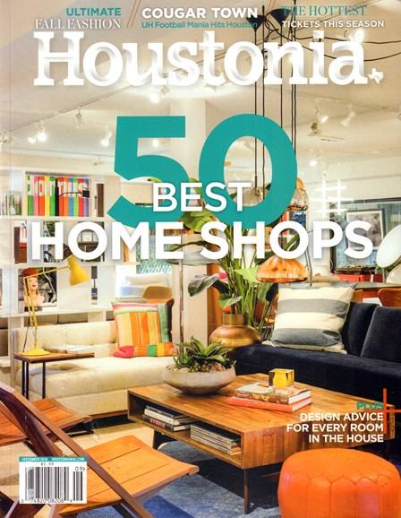 Houstonia Cover - 9/1/2016