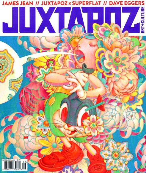 Juxtapoz Cover - 9/1/2016