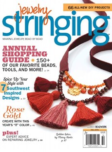 Jewelry Stringing | 9/2016 Cover