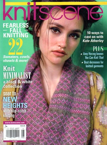 Knitscene Cover - 9/1/2016