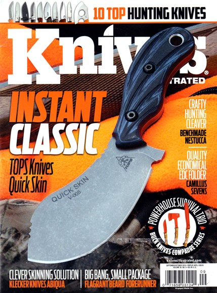 Knives Illustrated Cover - 9/1/2016