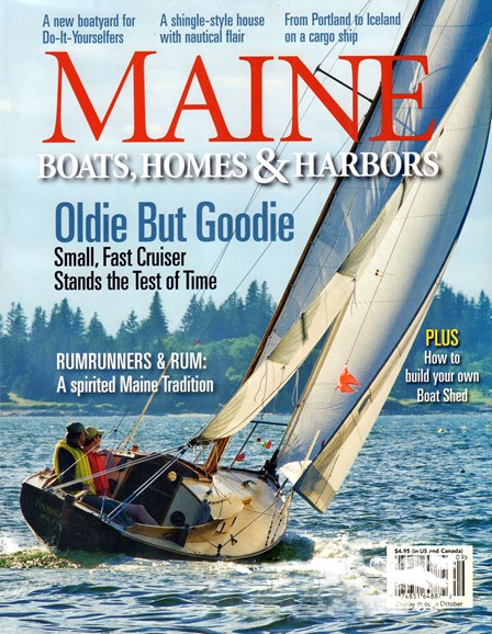 Maine Boats, Homes & Harbors Cover - 9/1/2016