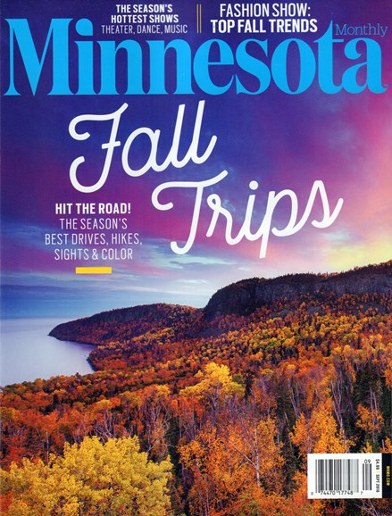 Minnesota Monthly Cover - 9/1/2016