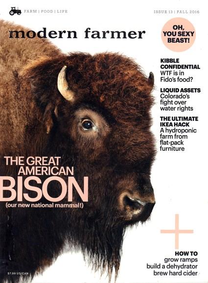 Modern Farmer Cover - 9/1/2016