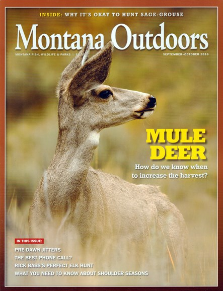 Montana Outdoors Cover - 9/1/2016