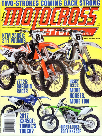 Motocross Action Cover - 9/1/2016