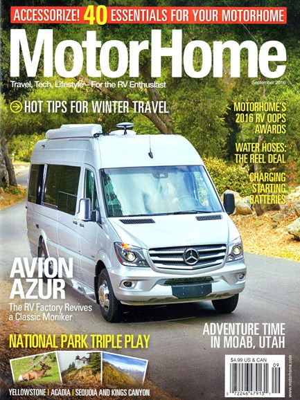 MotorHome Cover - 9/1/2016