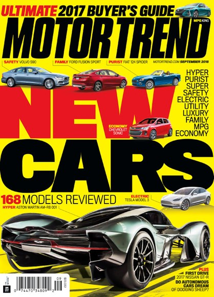 Motor Trend Cover - 9/1/2016
