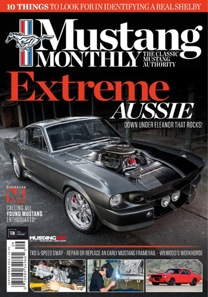 Mustang Monthly Cover - 9/1/2016