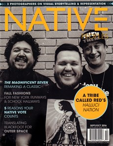 Native Peoples   9/2016 Cover