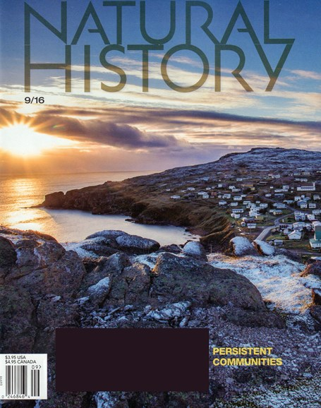 Natural History Cover - 9/1/2016