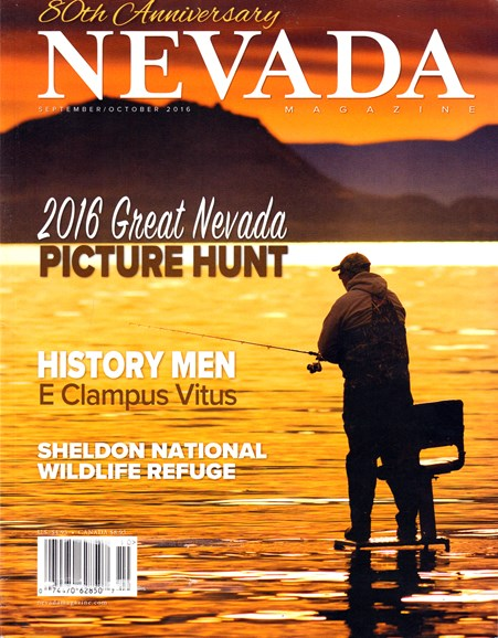 Nevada Magazine Cover - 9/1/2016