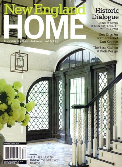 New England Home Cover - 9/1/2016