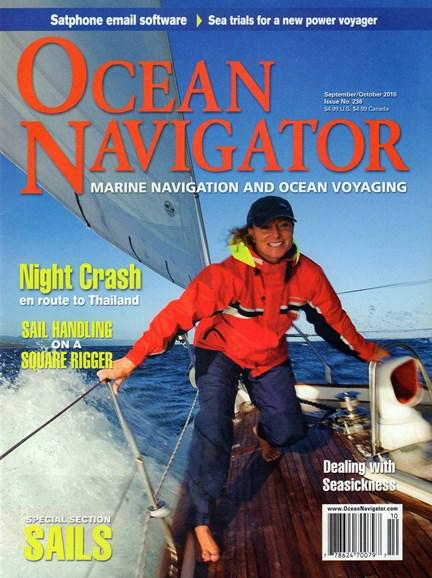 Ocean Navigator Cover - 9/1/2016