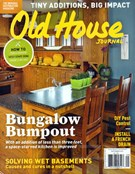 Old House Journal Magazine 9/1/2016