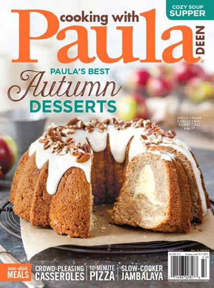 Cooking With Paula Deen Cover - 9/1/2016