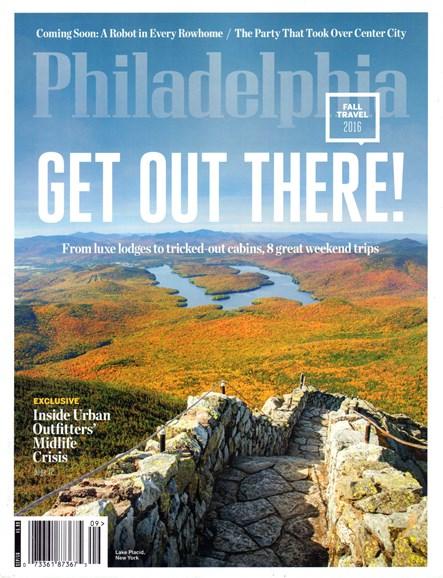 Philadelphia Magazine Cover - 9/1/2016