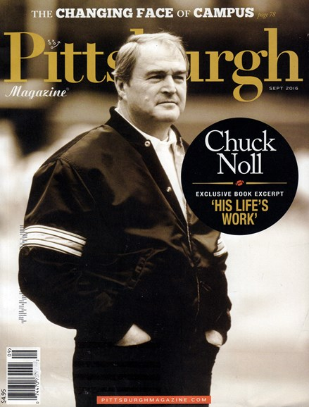 Pittsburgh Magazine Cover - 9/1/2016