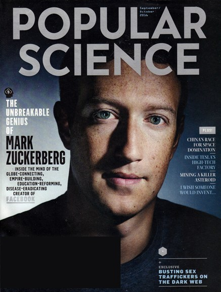 Popular Science Cover - 9/1/2016