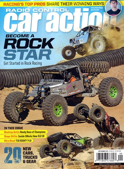 Radio Control Car Action Cover - 9/1/2016
