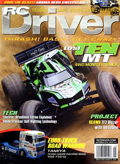RC Driver Cover - 9/1/2016