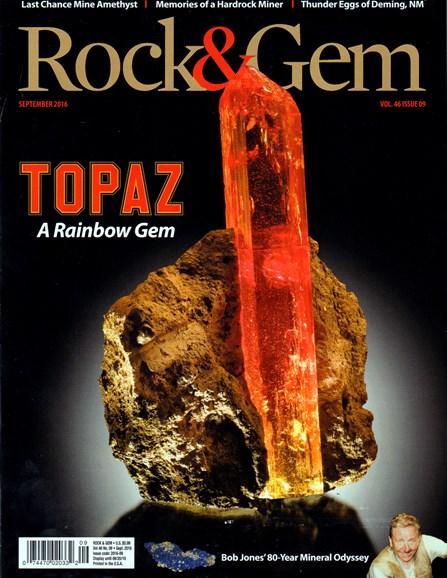 Rock & Gem Cover - 9/1/2016
