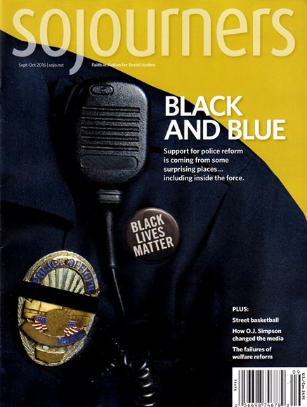 Sojourners Cover - 9/1/2016