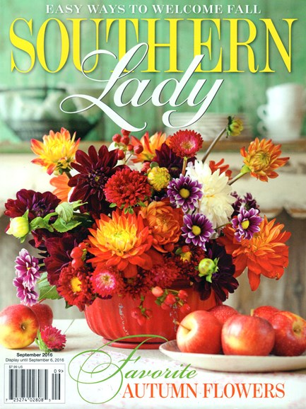Southern Lady Cover - 9/1/2016
