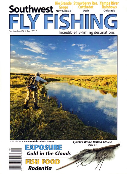 Southwest Fly Fishing Cover - 9/1/2016