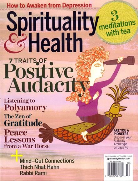 Spirituality & Health Cover - 9/1/2016