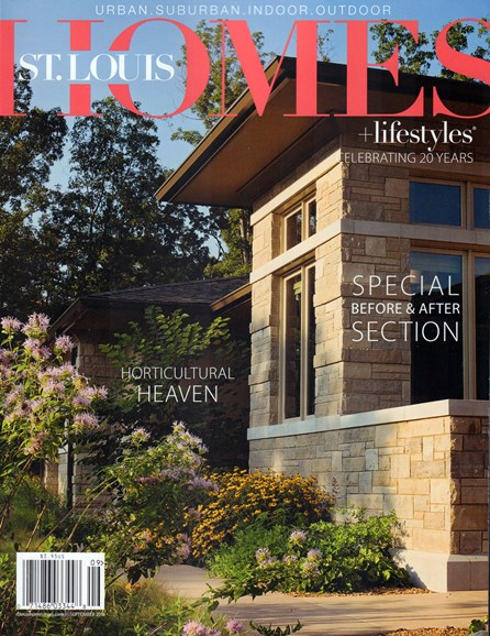 St. Louis Homes & Lifestyles Cover - 9/1/2016