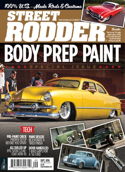 Street Rodder Cover - 9/1/2016