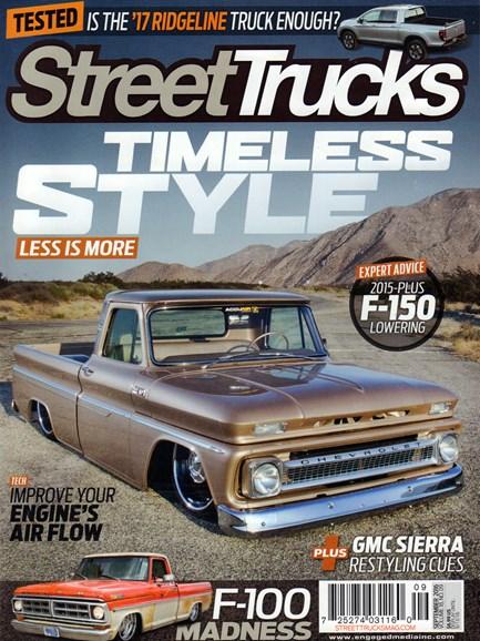 Street Trucks Cover - 9/1/2016