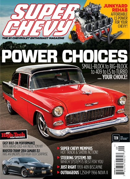 Super Chevy Cover - 9/1/2016